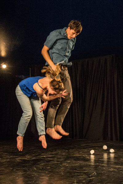 Instant- Improvised Zoom Performance by TeaTime Company